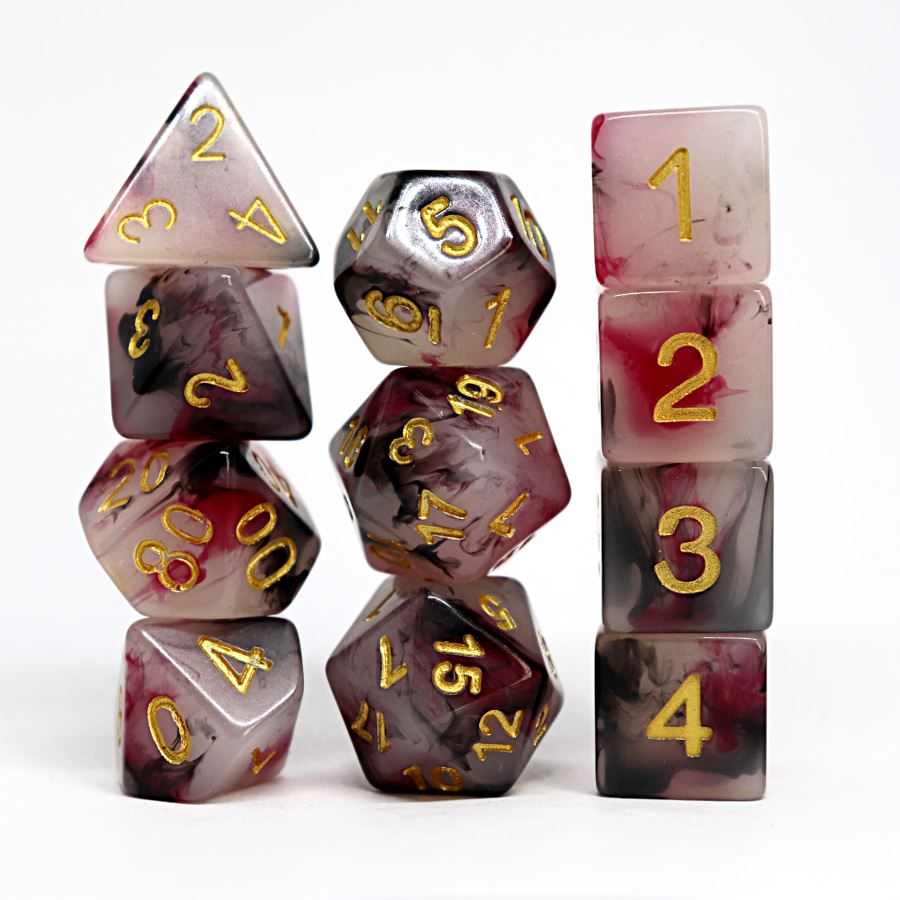 Moorhaven 11pc Polyhedral Dice Set - Arcana Vault