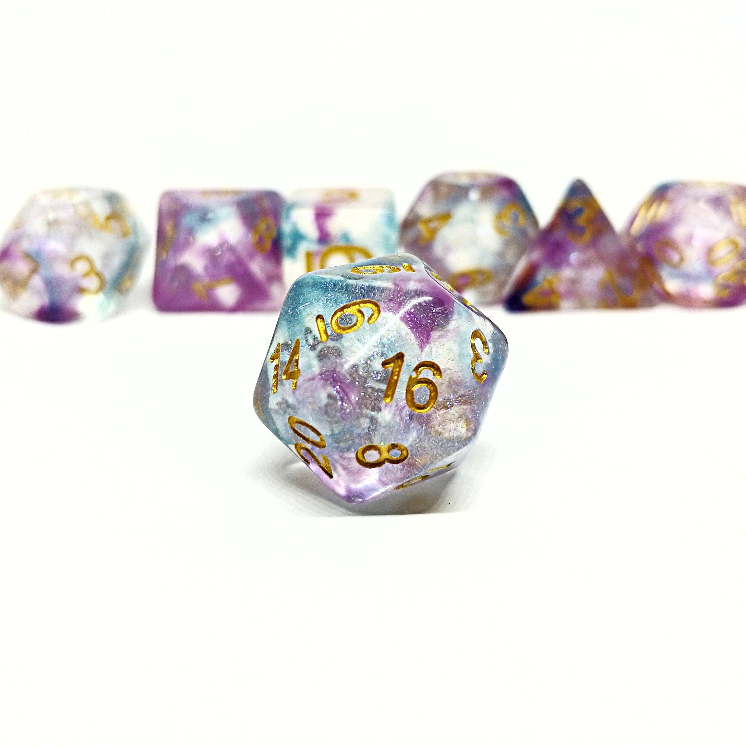 Aether Essence Polyhedral Dice Set - Arcana Vault