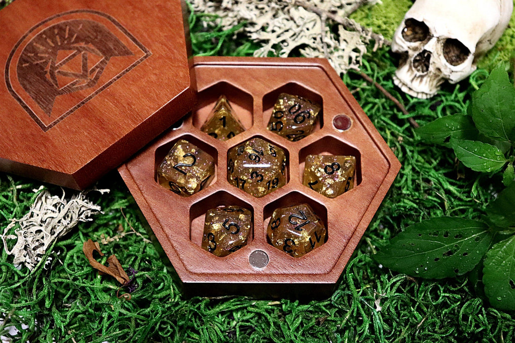 Hex Guardian Dice Box - Arcana Vault