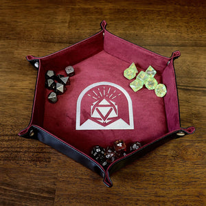 Hex Roller Dice Tray - Purple - Arcana Vault