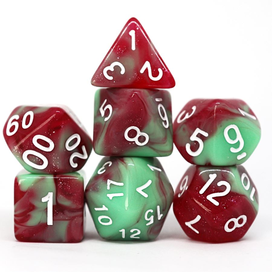 Hunter's Prey Polyhedral Dice Set - Arcana Vault