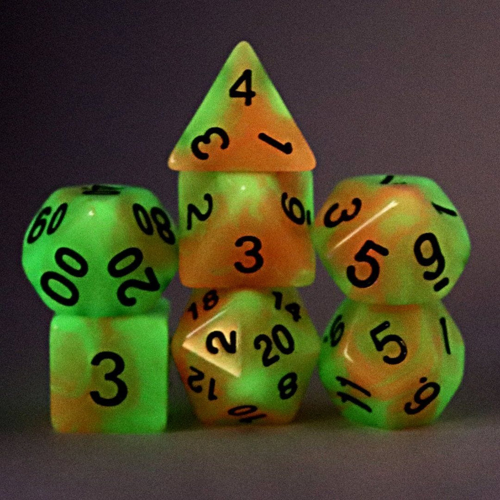 Lucidity Polyhedral Dice Set - Arcana Vault