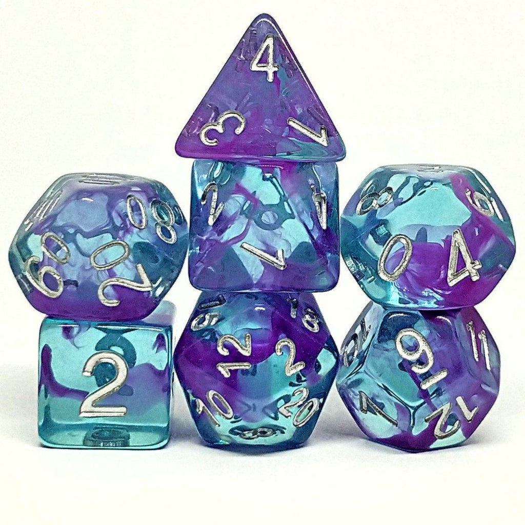 Tranquility Polyhedral Dice Set - Arcana Vault