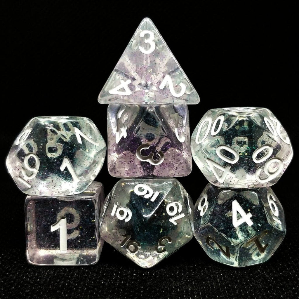 Twilight Crystal Polyhedral Dice Set - Arcana Vault