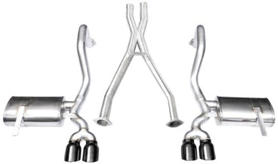 CORSA 14114BLK Cat-Back Exhaust System with X-Pipe