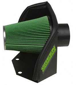 Green Filter 2553 Cold Air Intake System For Select Dodge Trucks, Cummins Diesel