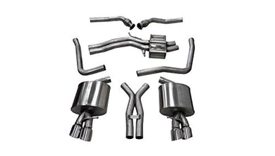 Corsa 14544 Cat Back Exhaust (Audi S5 B8 4.2L V8)