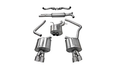 Corsa 14543 Cat Back Exhaust (Audi S4 B8 3.0L Turbo)