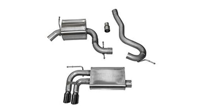 Corsa 14545BLK Cat Back Exhaust (Audi A3 8P 2.0L Turbo)