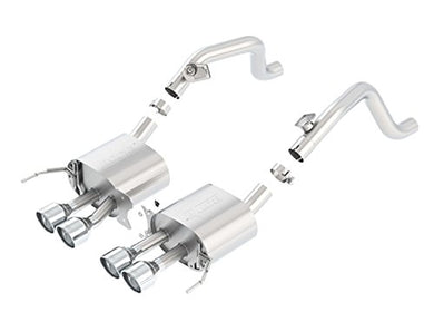 BORLA 11880 S-Type Rear Section Exhaust System (Round Tips)