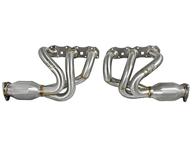 aFe Power 48-36401 Elite Twisted Steel Header with Catalytic Converter for Porsche 911 C2S (Non-CARB Compliant)