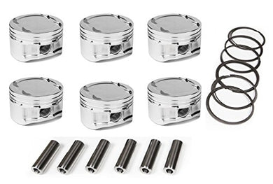 Custom CP Piston Set For BMW S54B32 3.2L S54 Twin Vanos - Bundle (86mm - 8.5CR)