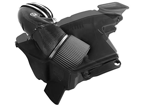 aFe 51-31662-C Magnum FORCE Pro Dry S Carbon Fiber Stage-2 Intake System for BMW M3 (E9X) V8-4.0L Engine (Non-CARB Compliant)