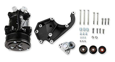 Holley 20-141BK GM LS A/C Accessory Drive Kit GM LS-Series Engines High Mount St