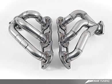 AWE Tuning 3610-11018 Porsche 997.2TT Performance Header Set