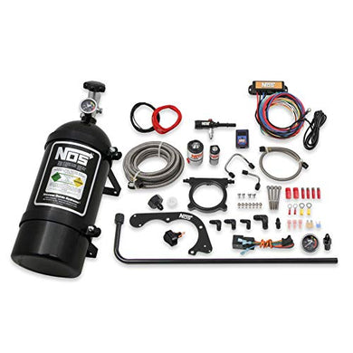 NOS 02125BNOS Black Wet Nitrous Kit for 11-14 Ford Mustang
