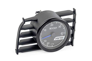 APR MS100148 Mk7 Golf, GTI and R Mechanical Boost Gauge System (Blue Needle)