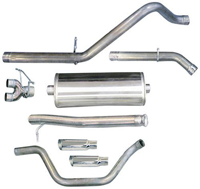 CORSA 24921 Dual Cat-Back Exhaust System for Sierra 1500 4.8/5.3L