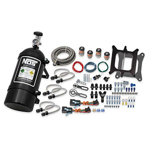 NOS 02301BNOS Pro Two-Stage Wet Nitrous System, 4150, Black