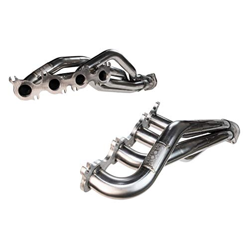 Kooks Custom Headers 10142650 Stainless Steel Headers For Use w/302-8.2 Deck Small Block Ford Swap w/Trick Flow TWR/SVO 351N/Brodix Track 1 N Cylinder Heads 2 in. x 3 1/2 in. Long Tube Stainless Steel Headers