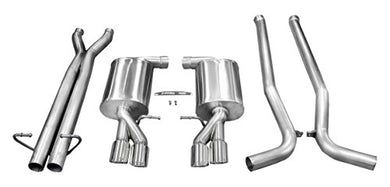 Corsa 14540 Cat Back Exhaust (Audi S4 B7 4.2L V8)