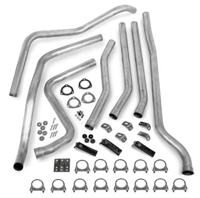 Hooker 16565HKR Dual Competition Header Back Exhaust System Kit