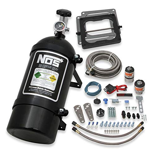 NOS 02101BNOS Big Shot Wet Nitrous System 4150 Square Bore 4-bbl Carburetor 6 AN