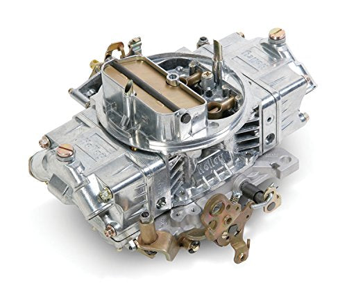 Holley 0-80572S Model 4150 Supercharger 700 CFM Square Bore 4-Barrel Mechanical Secondary Manual Choke Carburetor