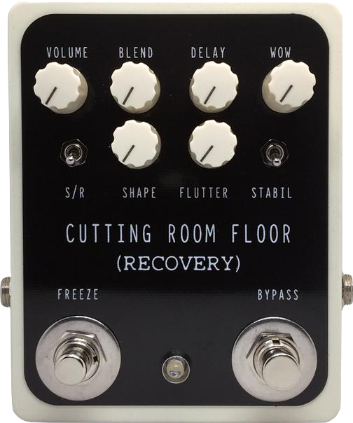 Recovery – Cutting Room Floor, echo, pitch, modulate, glitch