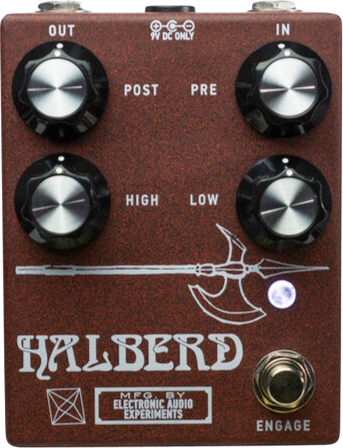 Electronic Audio Experiments – Halberd Overdrive