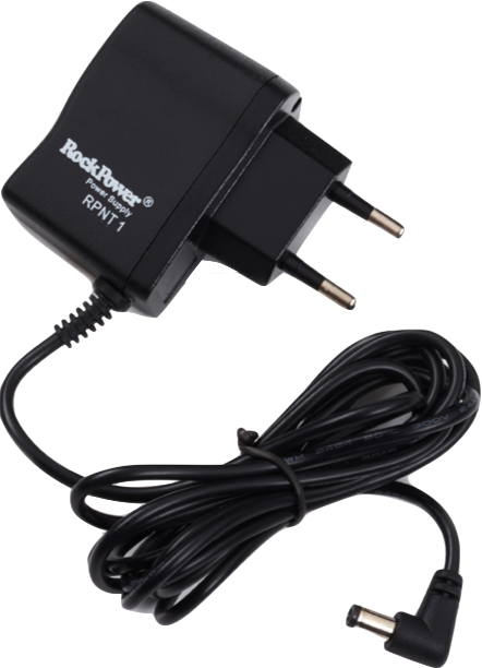 RockPower – NT 1 Power supply Adapter, 9V DC, 200 mA, (-) center, Euro plug