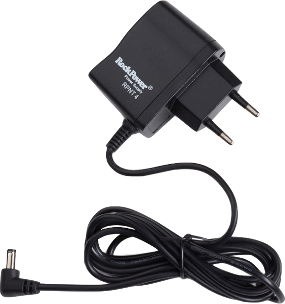 RockPower – NT 4 Power supply Adapter, 9,6V DC, 300 mA, (-) center, Euro plug