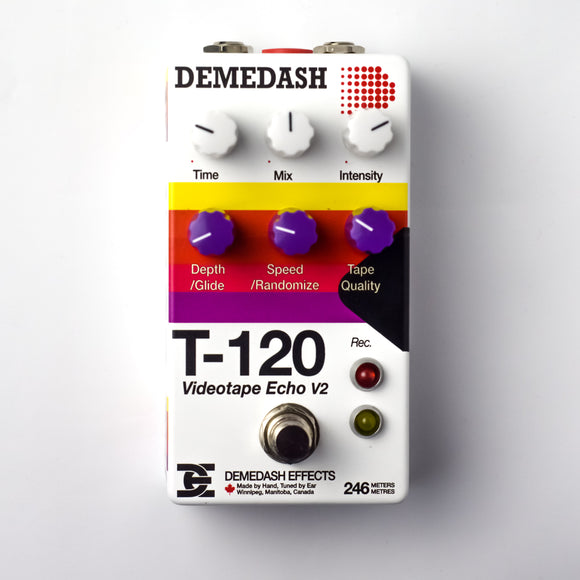 Demedash Effects – T-120 Videotape Echo v2