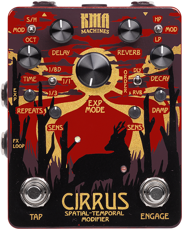 KMA — Cirrus, delay and reverb