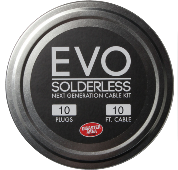 Disaster Area — Evo Solderless Kit 10 plugs 3m