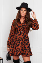 Load image into Gallery viewer, Floretta Animal Print Dress