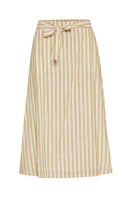 Golden Yellow Stripe Skirt