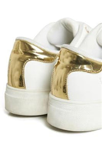 White & Gold Trainer