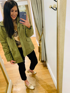 Morgan Jacket (Olive)