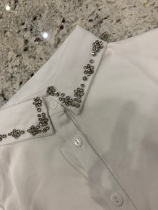 White Jewelled Collar