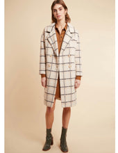 Load image into Gallery viewer, Frenchy Check Coat