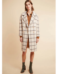 Frenchy Check Coat