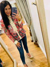 Load image into Gallery viewer, Formal Embroidered Blouse