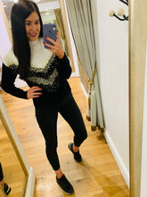 Load image into Gallery viewer, Donna Sequin Jumper (Black)