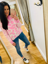 Load image into Gallery viewer, Grace Leopard Jumper (Pink)