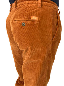 PANTALONE IN VELLUTO RUGGINE