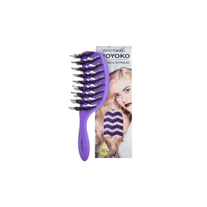 Mycro Keratin Moyoko Detangling Brush - Purple