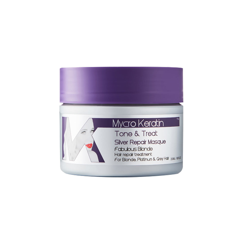 Mycro Keratin Tone&Treat Silver Repair Masque 250ml