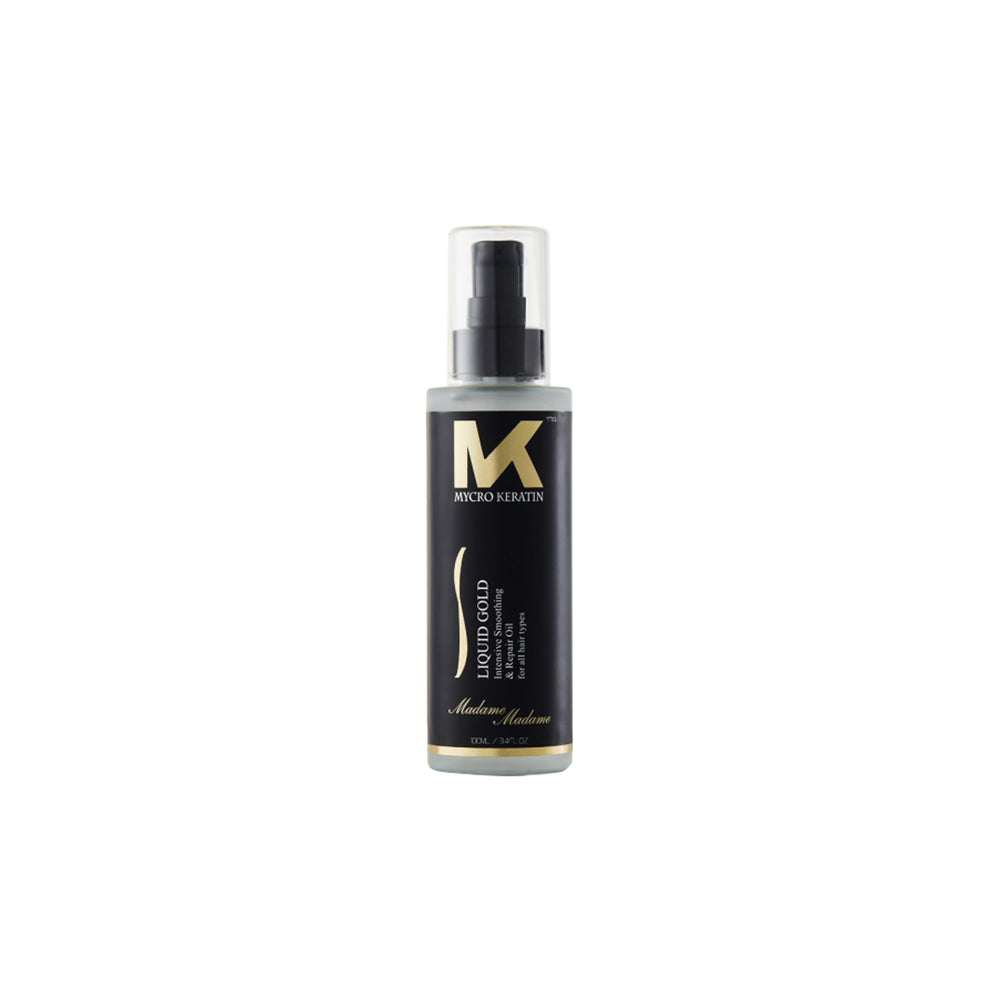 Load image into Gallery viewer, Mycro Keratin Madame Madame Liquid Gold Oil 100ml