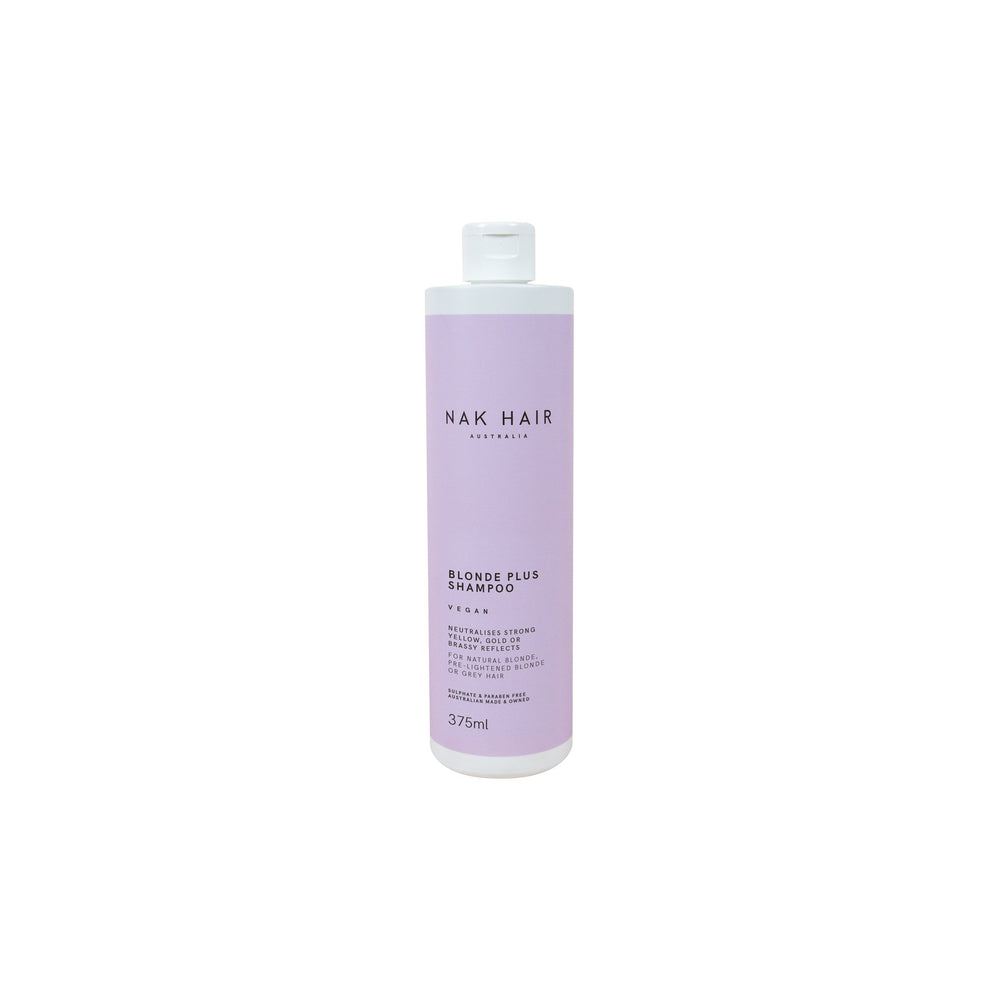 Nak Signatures Blonde Plus Shampoo 375ml